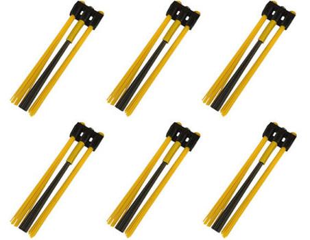 Kwern Ersatz Bürsten 6x3 Poly/Stahl Mix für Roadsweeper